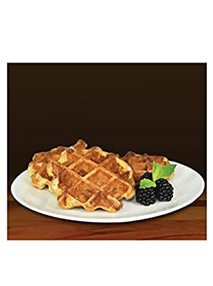 Prince Waffles 24-Pack Cinnamon Authentic Belgian Waffles