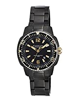 Giordano Analog Black Dial Men's Watch - P157-44