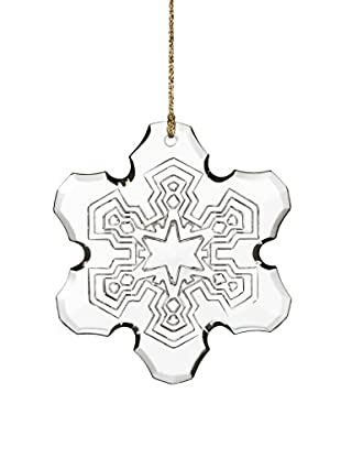 Marquis by Waterford 2015 Annual Snowflake Ornament, Clear