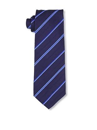 Desanto Men's Olimpia Diagonal Tie, Blue
