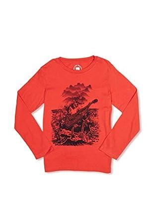 Quiksilver Camiseta Spiraea (Rojo)