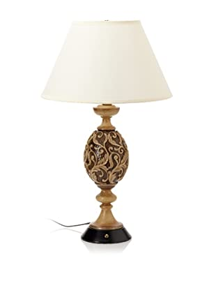 Pacific Coast Lighting Carved Detail Table Lamp