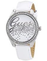 Guess Analog White Dial Women's Watch - W60006L1