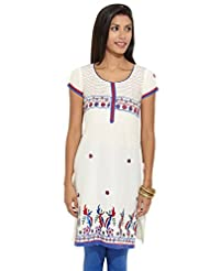 Lovely Lady Ladies Blend Straight Kurta - B00MMEVGC8