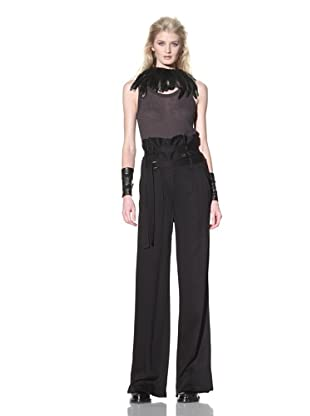 Ann Demeulemeester Women's Antoinette Trousers (Black)