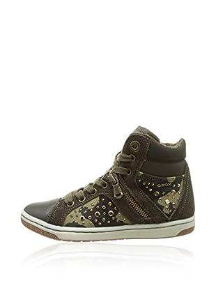 Geox Hightop Sneaker Jr Creamy
