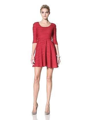 Donna Morgan Women's Zoey Dress (Cranberry)