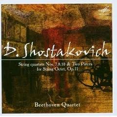 ベートーヴェンSQ演奏 ショスタコーヴィチ:弦楽四重奏曲7,8,10の商品写真