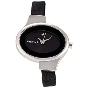 Fastrack NE6015SL02 Black Dial Women's Watch