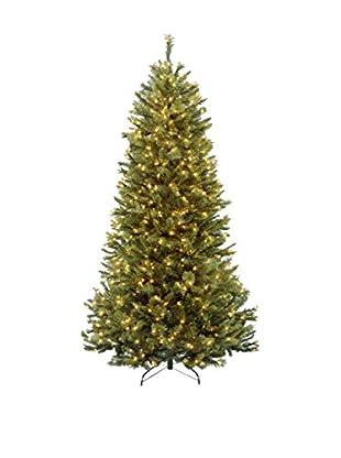 National Tree Company 7.5' Rocky Ridge Slim Pine Hinged Tree
