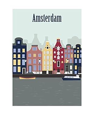NOORMAL Leinwandbild Amsterdam