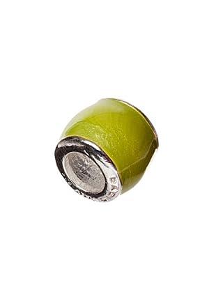 Bacio Abalorio de Plata de Ley 925  Confetti Grande Marrón