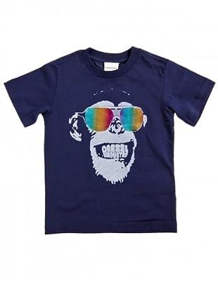 Diesel Kid T-Shirt Thecyk (Dunkelblau/Grau)