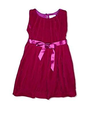 Rachel Riley Vestido Silk Fucsia (Púrpura)