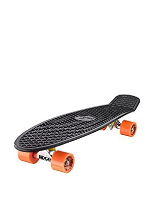Ridge Skateboards Monopatín Big Brother Cruiser Negro / Naranja