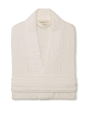 Nine Space Pleated Bathrobe (Ivory)