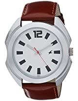 Fastrack Casual Analog Silver Dial Men's Watch - 3117SL01