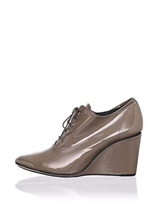 REPETTO Women's Orson Patent Wedge Bootie (Taupe/Grey)