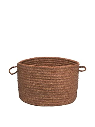 Colonial Mills Solid Fabric Print Basket (Cinnamon)