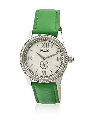 Bertha Uhr mit Japanischem Quarzuhrwerk Emma grün 42 mm