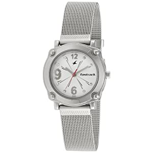 Fastrack Hip Hop Analog Silver Dial Women's Watch - NE6027SM01