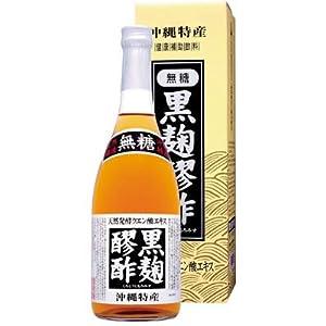 【クリックで詳細表示】黒麹醪酢 無糖 720ml