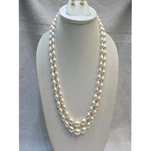 Trendy Souk Oval Pearls Necklace Set (TRENDY20)
