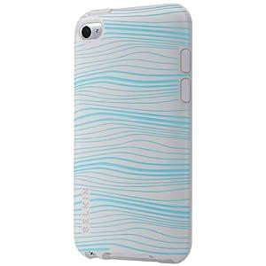 【クリックで詳細表示】BELKIN iPod touch 専用 シリコン・ソフトシェルケース グリップグラフィック ブルー F8Z655QEC01
