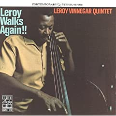 Leroy Walks Again!! /Leroy Vinnegar Quintet