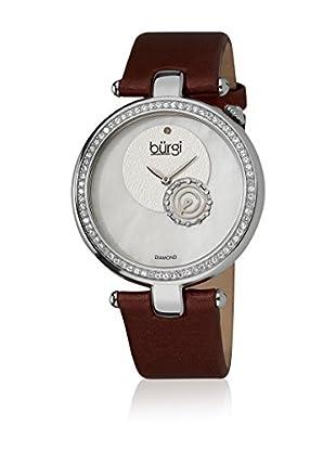 Bürgi Uhr mit schweizer Quarzuhrwerk Woman rot 40 mm