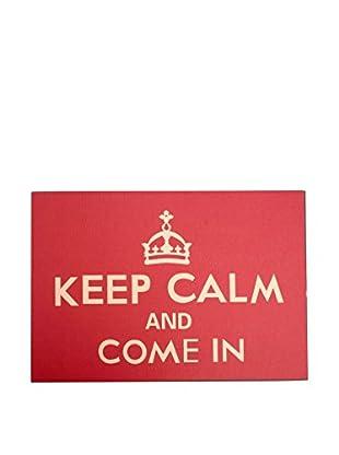 LO+DEMODA Fußmatte Keep Calm And Come In