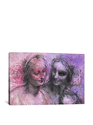 The Virgin And Child V Gallery Wrapped Canvas Print
