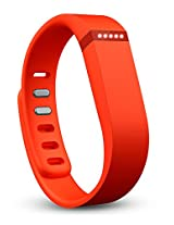 Fitbit Flex Wireless Activity Tracker and Sleep Wristband (Tangerine)