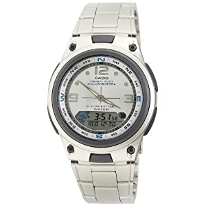 Casio Youth Analog-digital Silver Dial Men's Watch - AW-82D-7AVDF (AD180)