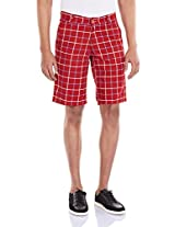Amswan By American Swan Men's Cotton Shorts