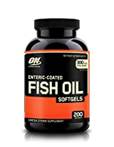 Optimum Nutrition (ON) Fish Oil - 200 Softgels