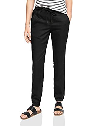 edc by ESPRIT Pantalone 056CC1B015 - im Jogging Stil Nero IT 46 (UK 14)