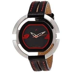 Fastrack Speed Racer Analog Black Dial Women's Watch - NE6064SL01