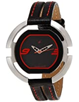 Fastrack Speed Racer Analog Black Dial Women's Watch - NE6064SL01