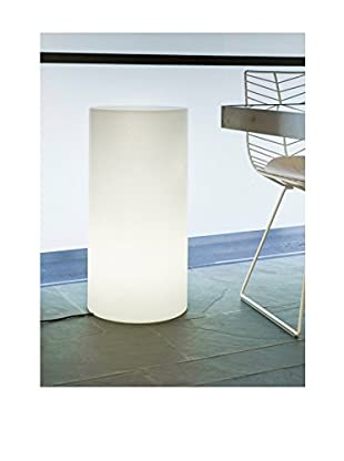 Artkalia Paris Wireless LED High Stool/Lounge Table, White Opaque