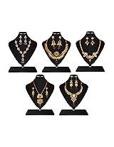 5 Fashion Jewellery Set Combo By Utsavi [Jewellery]