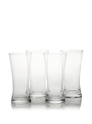 10 Strawberry Street Set of 4 Regina 13-Oz. Pilsner Glasses