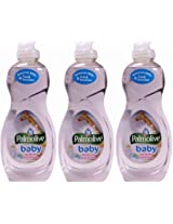 Palmolive Baby Bottle, Toy & Dish Wash, Ultra Concentrated, (Pack of 3)