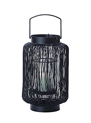 Torre & Tagus Wire Husk Lantern, Short