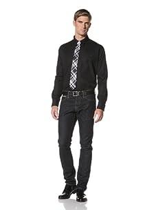 Hermès Men's Dress Shirt (Black)