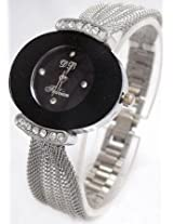 Gorgeous Black Dial wrist watch for Women