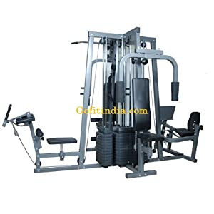 Toppro Multistation Gym 400 with Four Weight Stacs