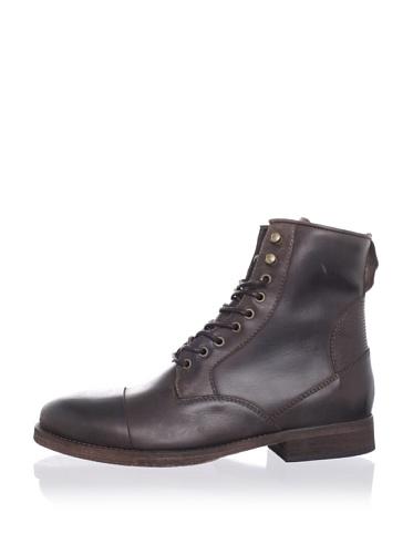 ksubi Men's Newman Lace-Up Boot (Brown Rustico)