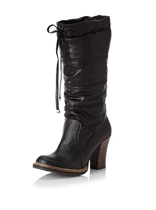 ALL BLACK Women's Moonwalk Knee-High Boot (Black)