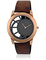 1576Wl01 Brown Analog Watch